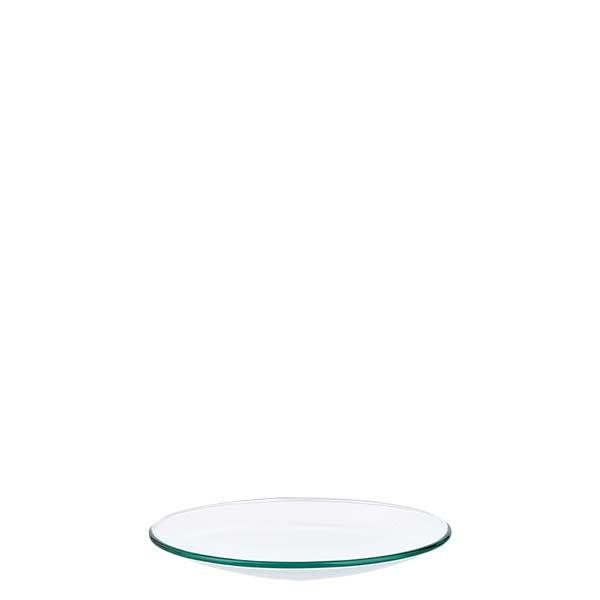 Uhrglasschale 70 mm - Borosilikatglas 3.3 - verschmolzener Rand