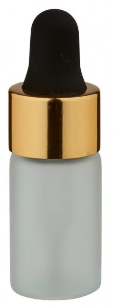 UNiTWIST 3ml gefrostete Mini Pipettenflasche g/s
