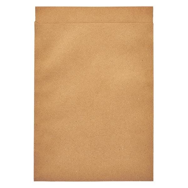 100 Papierbeutel 162 x 230 + 20 mm Klappe