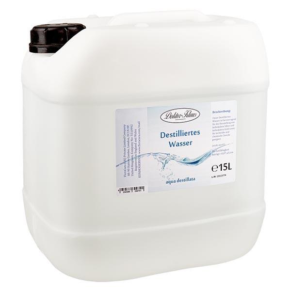 15 Liter destilliertes Wasser / Aqua destillata