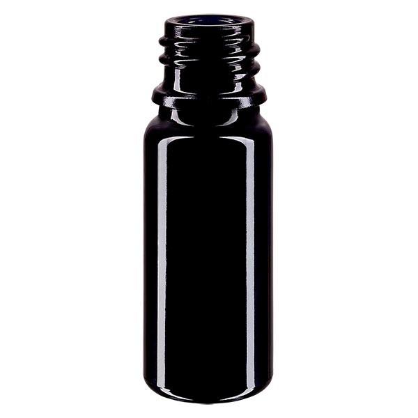 Violettglas Flasche 10ml DIN 18 (Mironglas)