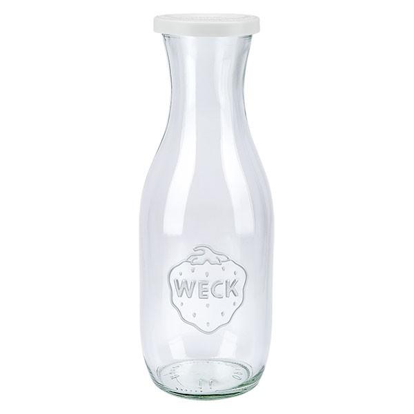 WECK 1062ml Saftflasche mit Frischhalte Deckel