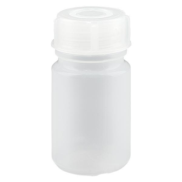 Weithals Laborflasche 50ml mit Verschluss