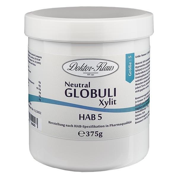 375g Neutral Globuli HAB5 aus Xylit (zuckerfrei)