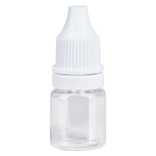 Liquid-Flasche, 5ml, transparent