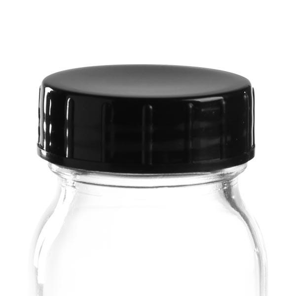 Schraubverschluss schwarz aus PPN 40mm (DIN 40)