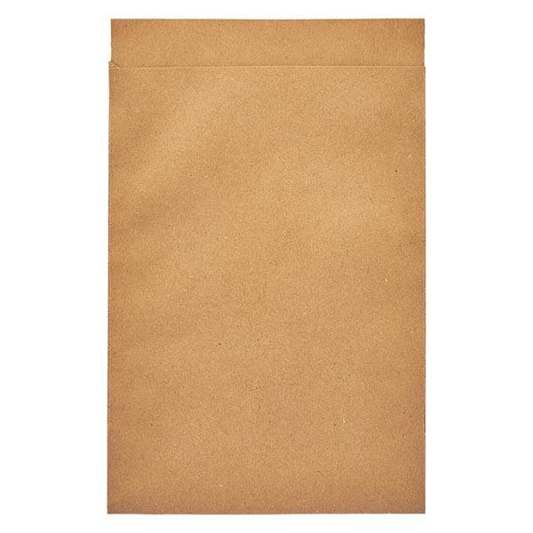 100 Papierbeutel 85 x 117 + 16 mm Klappe