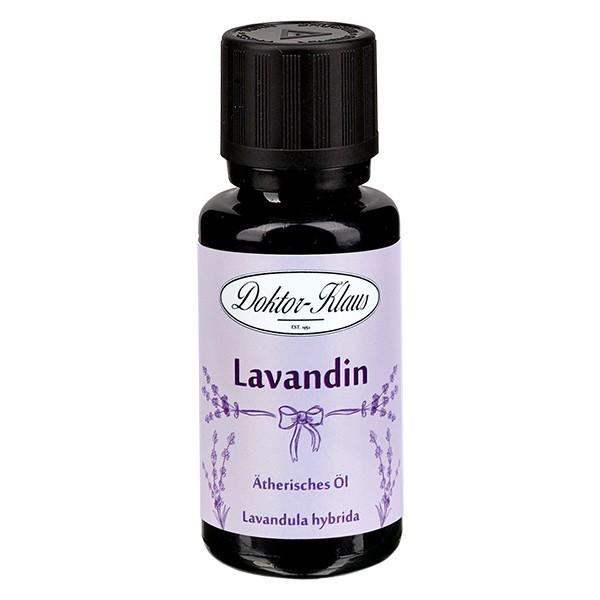 Doktor-Klaus Lavendelöl, 100% naturreines ätherisches Öl aus Frankreich, 20ml