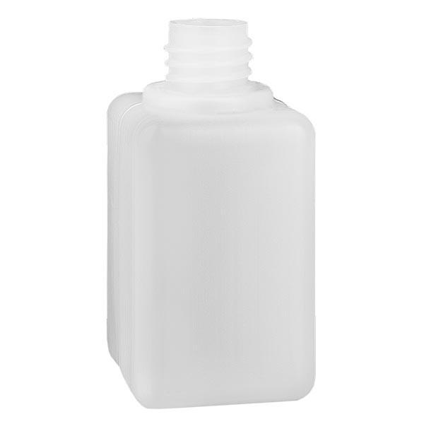 Chemikalienflasche 50ml, Enghals aus PE-HD, naturfarbig, GL 18