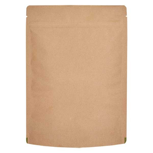 Kraftpapier- Standbodenbeutel Beutel braun (Füllmenge ca. 1000g / 235x340)