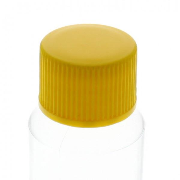 Schraubverschluss gelb mit PE Einlage, S20x3
