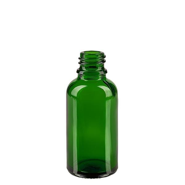 Tropfflasche 30ml ND 18 Grünglas Apothekenglas