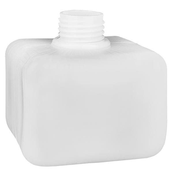 Chemikalienflasche 250ml, Enghals aus PE-HD, naturfarbig, GL 28