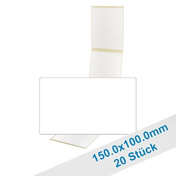 20er Pack Etiketten 150.0x100.0mm zum Beschriften