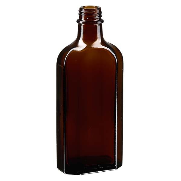 150 ml braune Meplatflasche mit DIN 22 Mündung