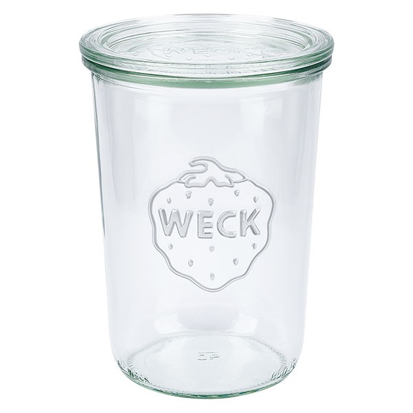 WECK-Sturzglas 850ml (3/4 Liter) mit Deckel