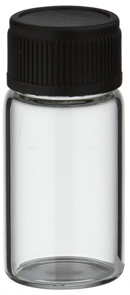 UNiTWIST 3ml klare Mini Glasflasche mit SV