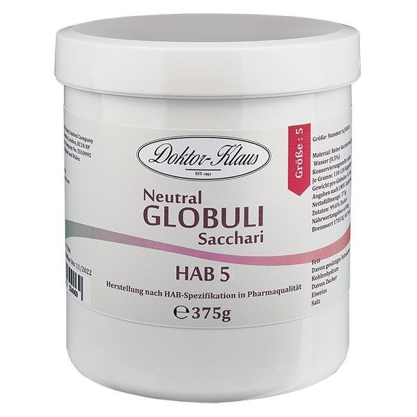 375g Neutral Globuli HAB5 aus 100% reiner Sachharose