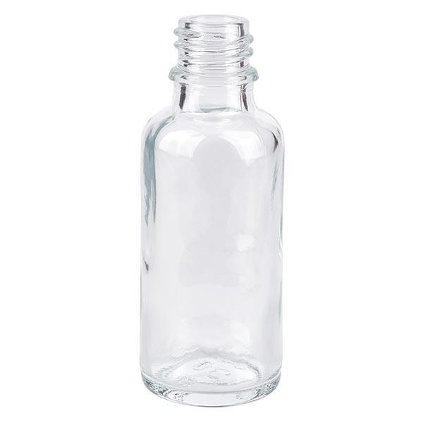 Tropfflasche 30ml ND 18 Klarglas Apothekenglas