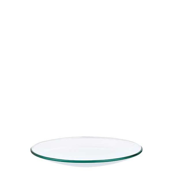 Uhrglasschale 90 mm - Borosilikatglas 3.3 - verschmolzener Rand