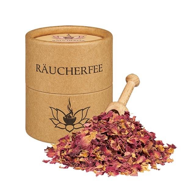 Rosenblütenblätter - 50ml Räucherwerk Räucherfee