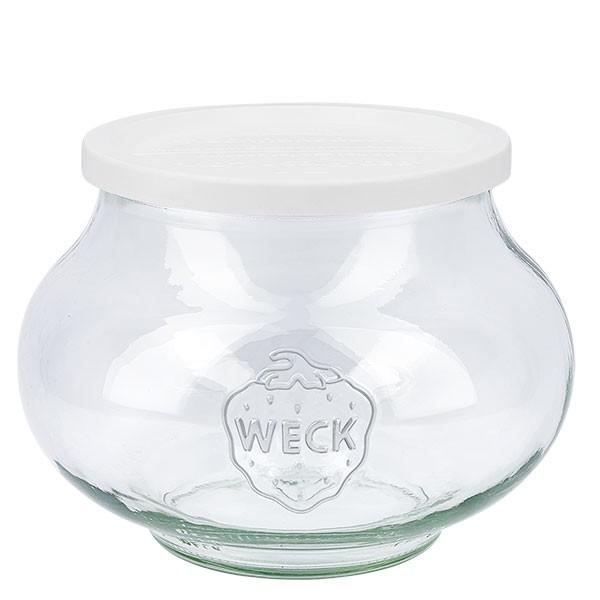 WECK 1062ml Schmuckglas mit Frischhalte Deckel