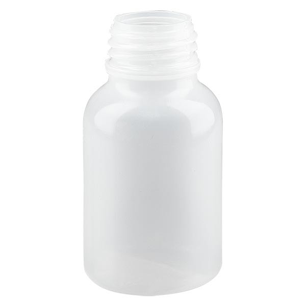 Weithals Laborflasche 100ml ohne Verschluss