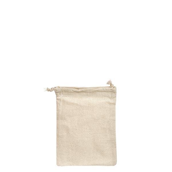 Baumwollbeutel 8x10cm mit Ziehband