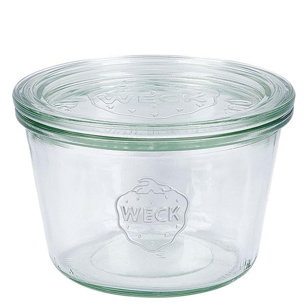 WECK-Sturzglas 370ml (1/4 Liter) mit Deckel
