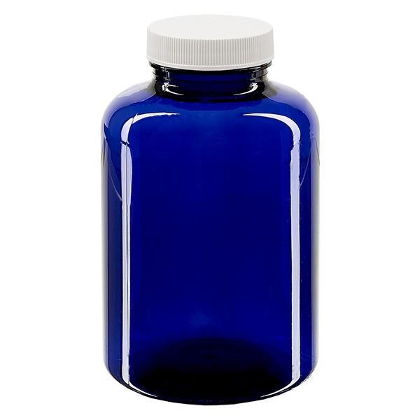 Petpacker 500ml kobaltblau Öffn. 45mm inkl. SFYP versiegelnder Deckel