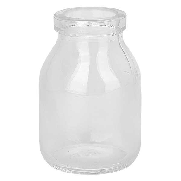 Korkenglas Round 50ml klar, Öffnung 22mm, ohne Korken 22/26