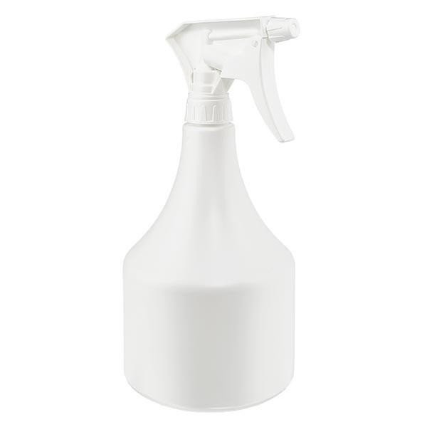 Sprayflasche Kegelform PP, 1000ml inklusive Handsprayer