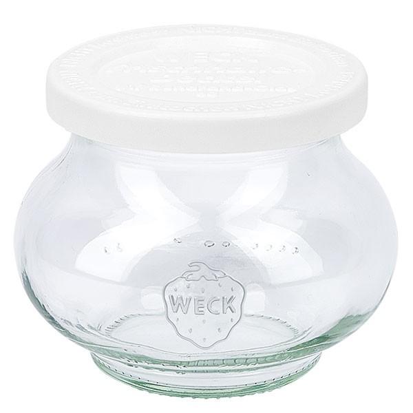 WECK 220ml Schmuckglas mit Frischhalte Deckel