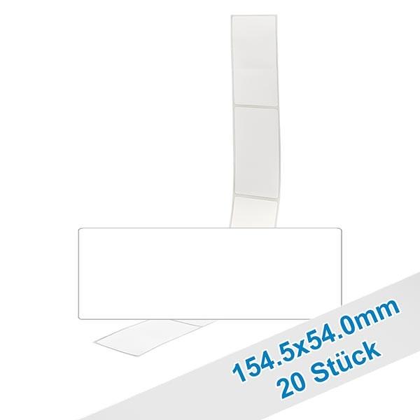 20er Pack Etiketten 54.0x154.5mm zum Beschriften