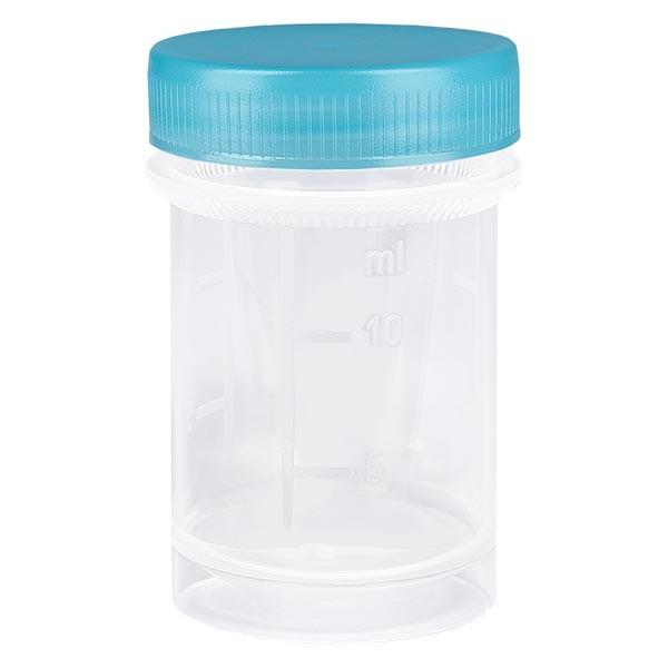 Universal Kunststoffdose (Pathogefäss) 20ml
