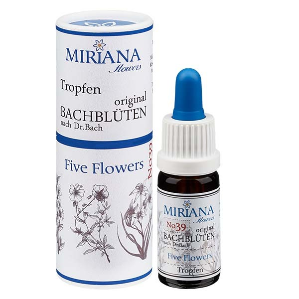 39 Five Flowers 10ml Essenz, MirianaFlowers