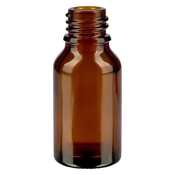 Tropfflasche 15ml ND 18 Braunglas Apothekenglas