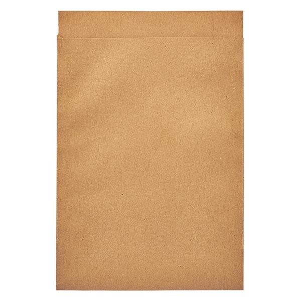 100 Papierbeutel 130 x 180 + 20 mm Klappe