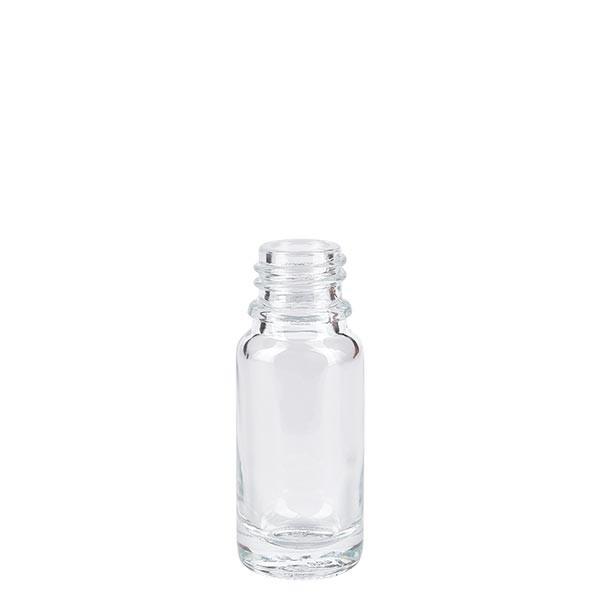 Tropfflasche 10ml ND 18 Klarglas Apothekenglas