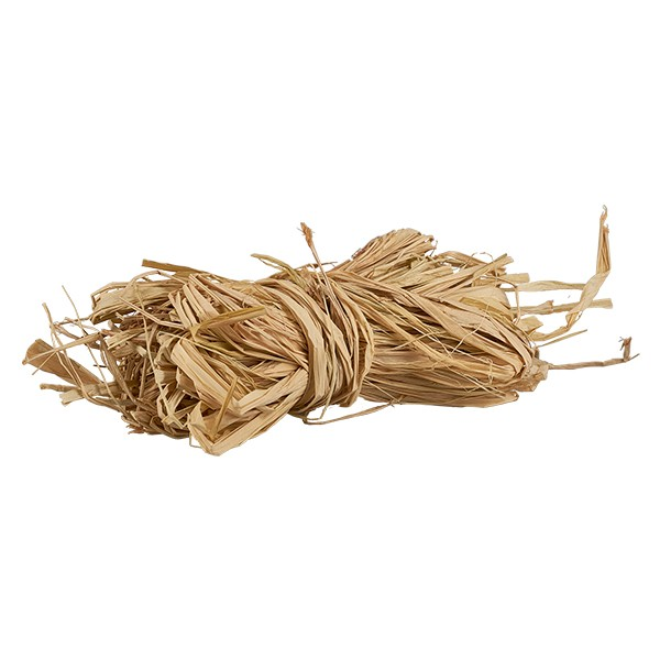 Naturbast - 30g - zum Dekorieren und Fixieren von Stoffdeckchen