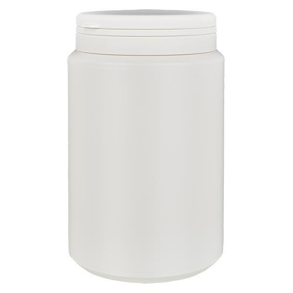Kapselbox 1000 ml weiss mit Jaycap OV weiss