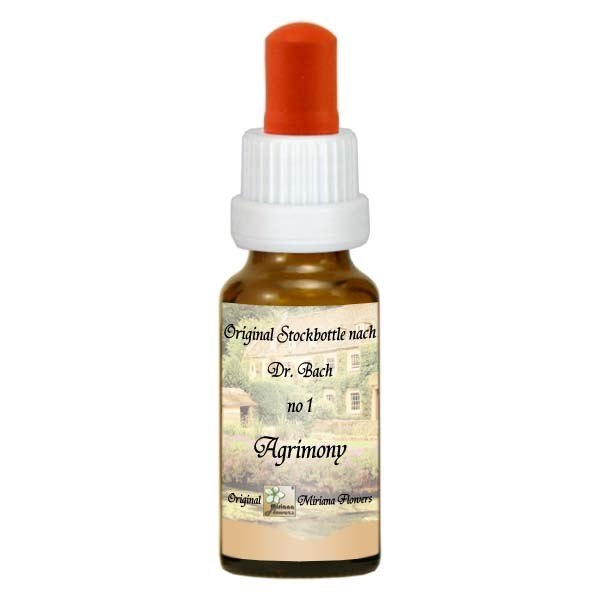1 Agrimony, 20ml Essenz, MirianaFlowers