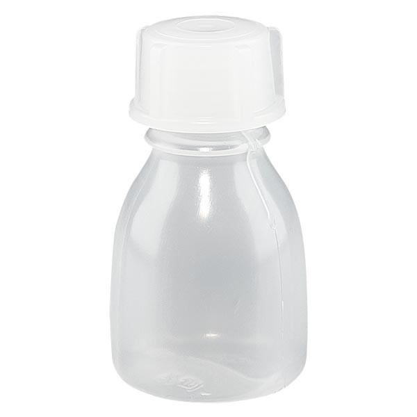 Enghals Laborflasche 10ml mit Schraubverschluss