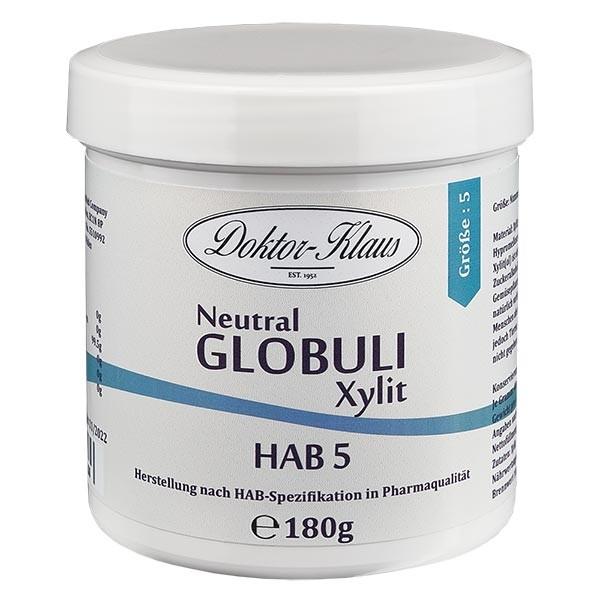 180g Neutral Globuli HAB5 aus Xylit (zuckerfrei)