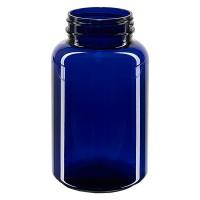 Petpacker 250ml kobaltblau Öffn. 45mm ohne Deckel VPE 1 Stck.