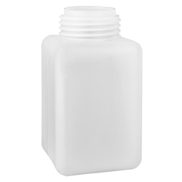 Chemikalienflasche 1000ml, Weithals aus PE-HD, naturfarbig, GL 65
