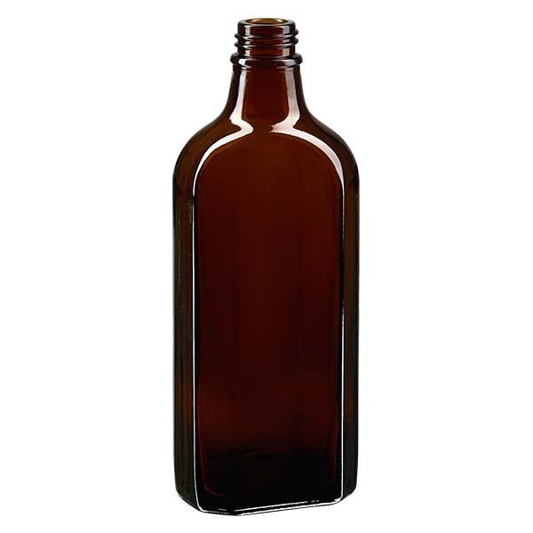 200 ml braune Meplatflasche mit DIN 22 Mündung