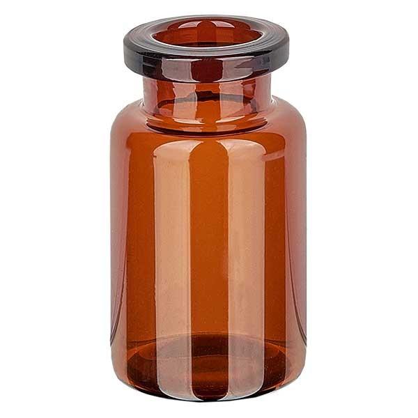 Injektionsflasche 10ml Braunglas - Typ I Röhrenglas