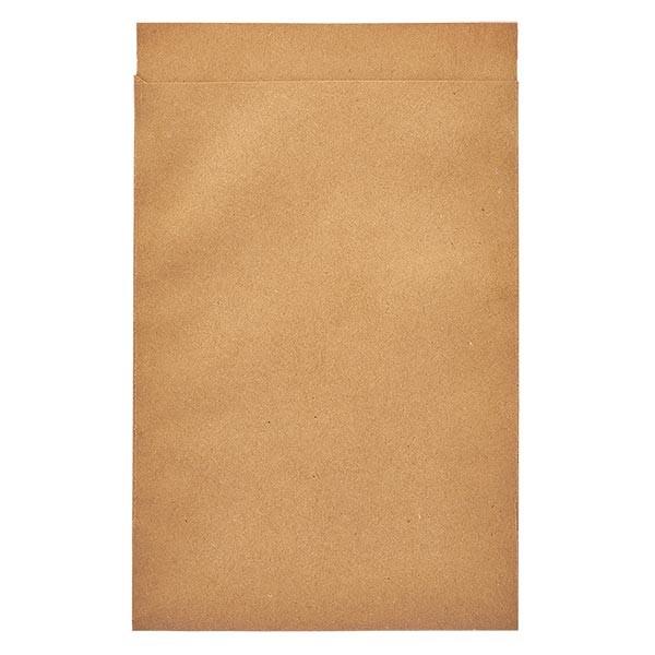 100 Papierbeutel 105 x 150 + 20 mm Klappe