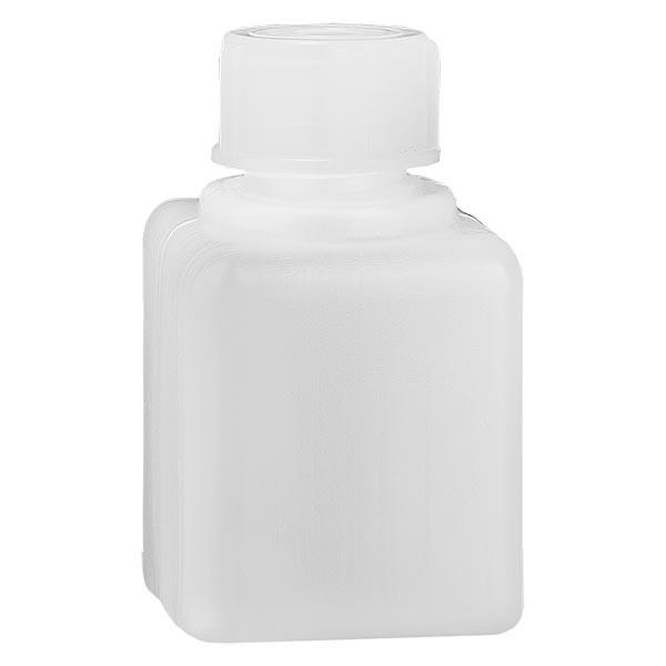 Chemikalienflasche 20ml, Enghals aus PE-HD, naturfarbig, inkl. Verschluss GL 18